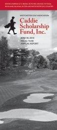 2010 Annual Report - Westchestergolf.org