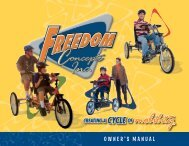OWNER'S MANUAL - Freedom Concepts