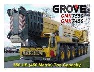 550 US (450 Metric) - Anthony Crane USA