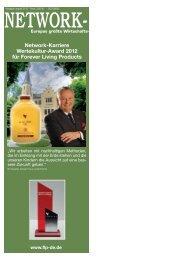Ethik und Werte: FOREVER - Forever Living Products Austria