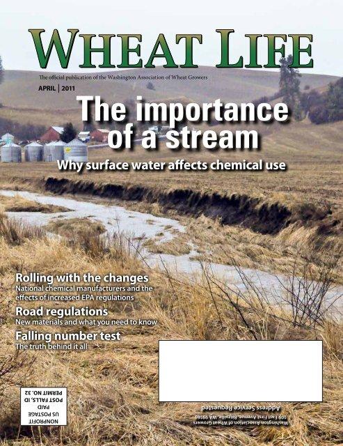 April - Wheat Life