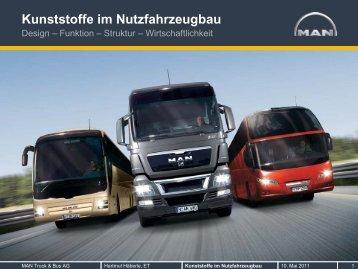 Kunststoffe im Nutzfahrzeugbau - Chemie ist in!
