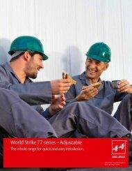 World Strike 77 series – Adjustable - effeff