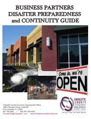 Business Partners Disaster Preparedness and Continuity Guide
