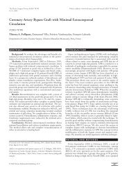 Coronary Artery Bypass Graft with Minimal ... - ResearchGate