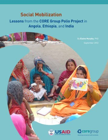 Social MoBilization: leSSonS froM the core grouP Polio Project in ...