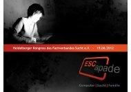 Heidelberger Kongress des Fachverbandes Sucht e.V. – 19.06.2012