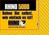 RHINO 5000 Kurzanleitung - Office-Profishop