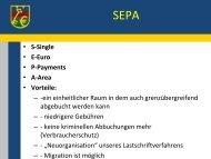 SEPA-Vortrag - kassenverwalter.de