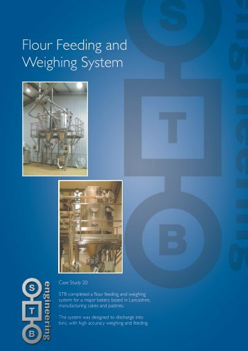 Flour Feeding and Weighing System - STB Engineering Ltd