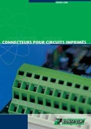 CONNECTEURS POUR CIRCUITS IMPRIMÉS - CONTA-CLIP