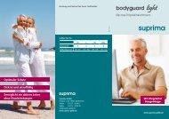 Flyer bodyguard light - Suprima GmbH