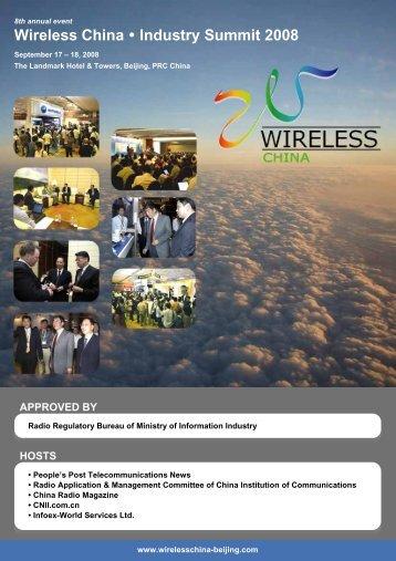 Wireless China Industry Summit 2008 - Tetra