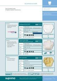 Incontinence briefs - Suprima GmbH