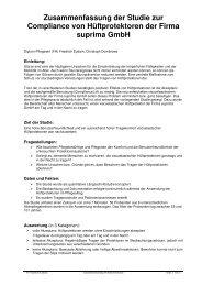 Zusammenfassung Studie - Suprima GmbH
