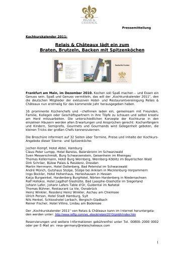 herunterladen - Relais & Chateaux