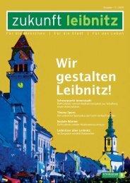 Wir gestalten Leibnitz! - Steirische Volkspartei