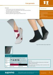 Care garments - Suprima GmbH