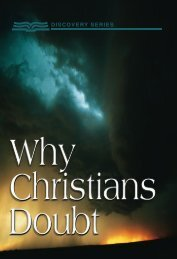 Why Christians Doubt - RBC Ministries