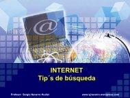 Internet y búsqueda de información - Ing. Sergio Navarro Hudiel