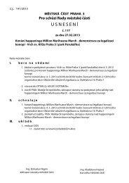 Usnesení v. 2.2 - Praha 3