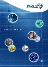 Annual Report 2012 (ENG) - Create-Net
