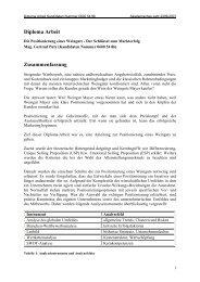 Diploma Arbeit Zusammenfassung - Weinakademie Österreich