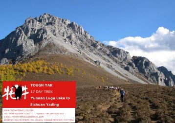 to Yading Natural Reserve - The Yak Traveller