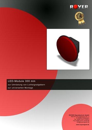LED-Module 300 mm - Royer Signaltechnik GmbH