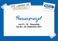 Pressespiegel 16.12. - New Basket 92 Oberhausen