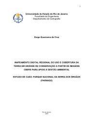 Universidade do Estado do Rio de Janeiro ... - Georeferencial