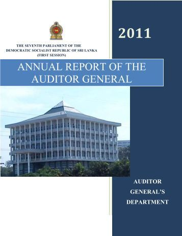 English - Auditor General's Department