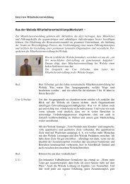 Ein Interview mit Uwe Urbschat, Leiter der ... - Weleda