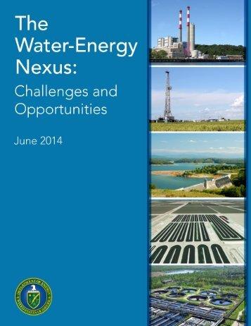 Water-Energy Nexus Report June 2014