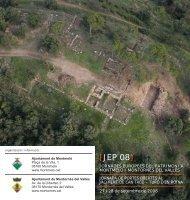 Díptic de les Jornades Europees del Patrimoni 2008