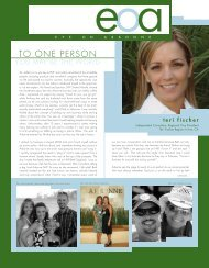 TO ONE PERSON - Arbonne