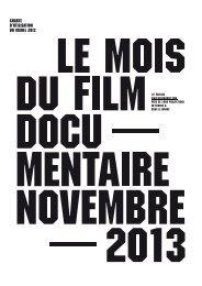 Charte graphique - Le Mois du Film Documentaire