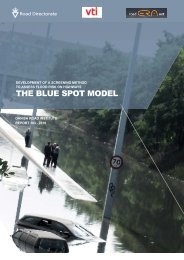 Third report - The Blue Spot model - Climate Change Adaptation