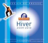 Hiver 2009 - Agence C3M