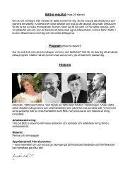 Tidigare exempel på Elevens val - Sveaskolan
