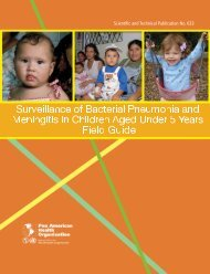Surveillance of bacterial pneumonia and meningitis in children ages ...