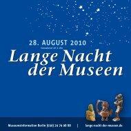28. august 2010 - Stiftung Stadtmuseum Berlin