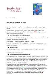 Elternbrief 09 2012 - Bezirksschule Gersau
