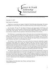 1 December 15, 2009 Dear Partner or Contributor, Thank you so ...