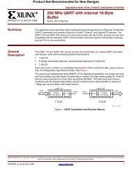 Xilinx XAPP1026 LightWeight IP (lwIP) Application Examples