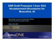 DNR Draft Proposed 1-hour SO2 Nonattainment Boundaries for ...