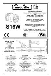 Astonishing I Alternatori Serie Ar1 Gb Ar1 Series Mecc Alte Spa Wiring 101 Ferenstreekradiomeanderfmnl