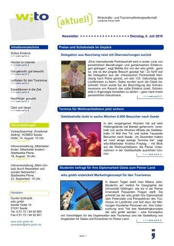2010 - Ausgabe 2 - Wirtschafts- und Tourismusfördergesellschaft ...