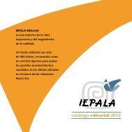 catálogo editorial 2012 - IEPALA
