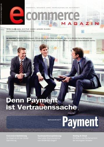 Leseprobe - E-Commerce Magazin